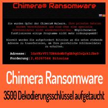 Dekodierungsschlüssel für Chimera Ransomware veröffentlicht