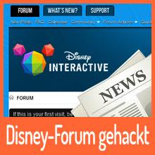 Ziemlich Goofy – Disney-Forum gehackt