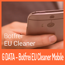 G DATA – Botfrei EU Cleaner Mobile