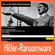 Es gibt jetzt auch die Hitler-Ransomware