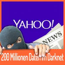 200 Millionen Yahoo Nutzer-Daten im Darknet