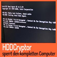 Ransomware HDDCryptor sperrt den kompletten Computer