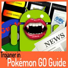 Pokémon GO Guide entpuppt sich als Trojaner