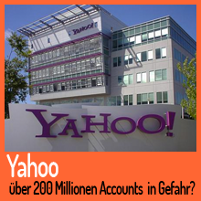 Yahoo Hack – Mehrere hundert Millionen Benutzerkonten in Gefahr?