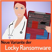 Wieder neue Version der Locky Ransomware