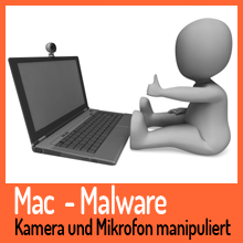 Mac – Kamera und Mikrofon können ferngesteuert werden