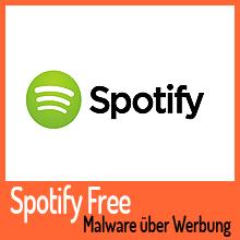 Spotify-Werbung liefert für kurze Zeit Malware aus