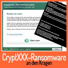 Entschlüsselungstool für CryptXXX Ransomware