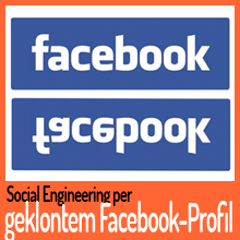 Social Engineering per geklontem Facebook-Profil
