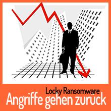 Ransomware Locky: Angriffe gehen zurück