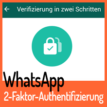 2-Faktor-Authentifizierung – WhatsApp