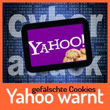 Yahoo warnt Kunden vor Hackerangriff