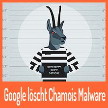 Google löscht Chamois Malware aus eigenem Store
