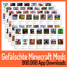 Gefälschte Minecraft-Apps im Google Play