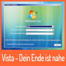 Windows Vista – Dein Ende ist nahe