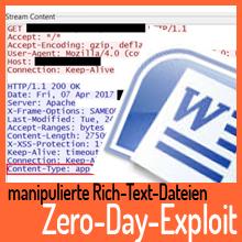 Zero-Day-Exploit: Infektion über Office-Dokumente