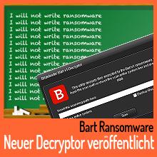 Bitdefender: Kostenloser Decryptor für Bart-Ransomware