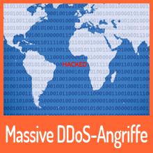 Massive DDoS-Angriffe stören das Internet