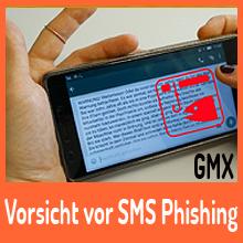 Vorsicht vor Phishing-SMS: GMX-Nutzer im Visier