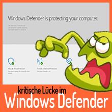 Microsoft behebt kritische Lücke im Windows Defender