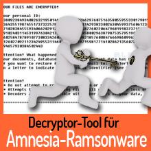 EMSISOFT – Entschlüsselungs-Tool für die Amnesia Ransomware