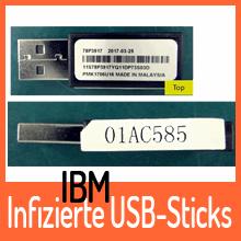 USB-Sticks von IBM mit bösartigem Schadcode