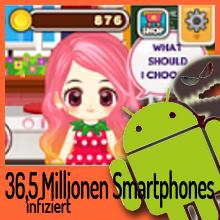 """Über 36 Millionen Android Geräte sind mit """"Judy"""" infiziert"""