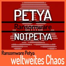 Ransomware Petya sorgt für weltweites Chaos