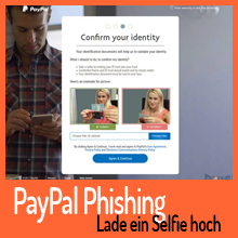 Paypal Identitätsprüfung