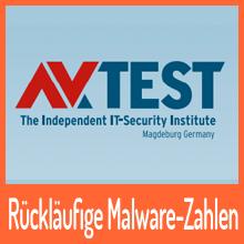 AV-TEST: Rückläufige Malware-Zahlen, aber kein Grund zum freuen