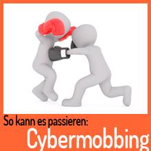 So kann es passieren: Cybermobbing