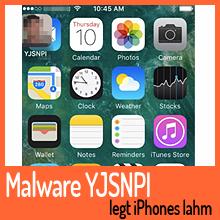 Malware YJSNPI legt iPhones lahm