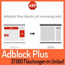 Gefälschte Adblock Plus Erweiterung im Umlauf