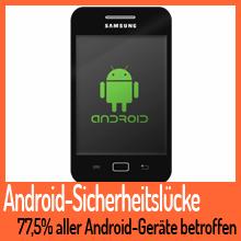 77,5% aller Android-Geräte von erneuter Sicherheitslücke betroffen