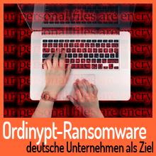 Ordinypt-Ransomware hat Personalabteilungen im Visier