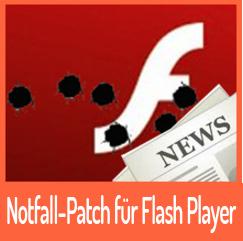 Adobe veröffentlicht Notfall-Patch für den Flash Player