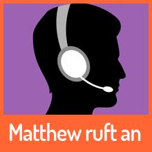 Matthew ruft an – Gespräch mit einem Fake-Anrufer