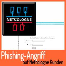 Phishing-Angriff auf NetCologne Kunden