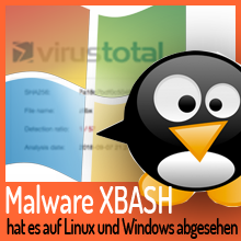 Malware XBASH hat es auf Linux und Windows abgesehen