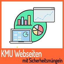 9 Prozent von KMU Webseiten mit Sicherheitsmängeln
