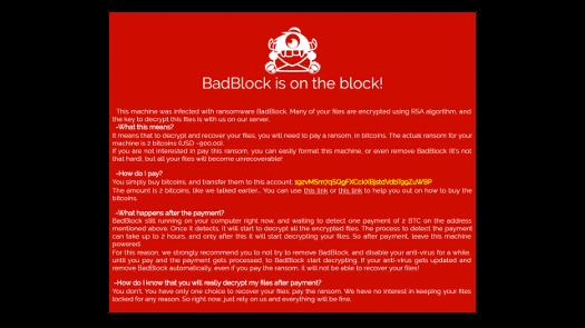 BadBlock