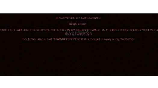 GandCrab Version 3 Ransomware