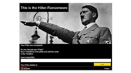 Hitler-Ransomware