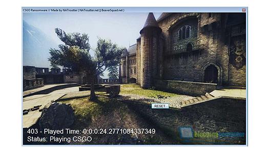 Minecraft & CS Ransomware