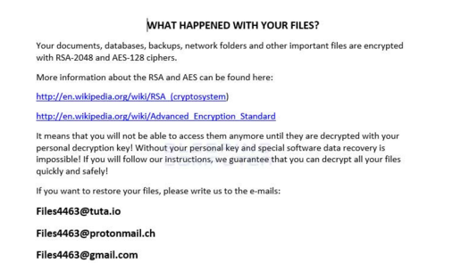New Matrix Ransomware