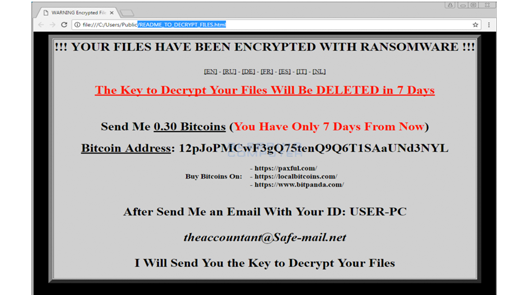 New Ranion Ransomware