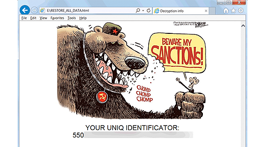 Sanctions Ransomware