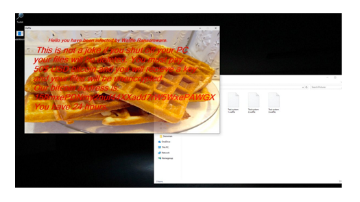 Waffle Ransomware